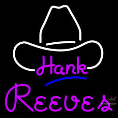 Custom Hank Reeves Neon Sign