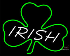 Custom Irish Clover Leaf Logo Neon Sign
