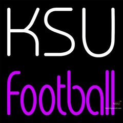 Custom Ksu Football Neon Sign