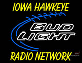Custom Radio Network Bud Light Football Neon Sign