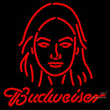 Custom Red Headed Woman Neon Sign