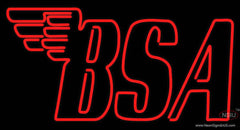 Custom Bsa Logo Neon Sign
