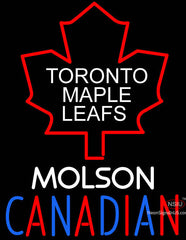Toronto Maple Leafs Molson Canadian Neon Sign