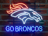 Denver Broncos Neon Sign