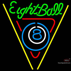 Eight Ball Billiards Pool Neon Beer Sign x