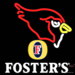 Fosters Arizona Cardinals NFL Real Neon Glass Tube Neon Sign    x