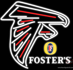 Fosters Atlanta Falcons NFL Real Neon Glass Tube Neon Sign