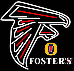 Fosters Atlanta Falcons NFL Neon Sign