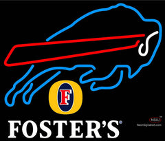 Fosters Buffalo Bills NFL Neon Sign