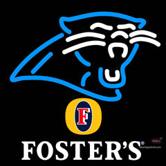 Fosters Carolina Panthers NFL Neon Sign   x