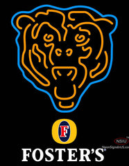 Fosters Chicago Bears NFL Neon Sign