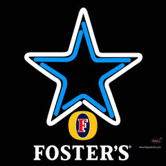 Fosters Dallas Cowboys NFL Neon Sign   x