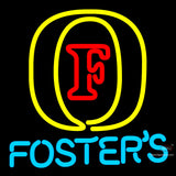 Fosters Initial Neon Beer Sign x
