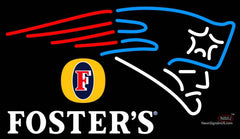 Fosters New England Patriots NFL Neon Sign