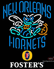 Fosters New Orleans Hornets NBA Neon Sign
