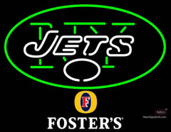 Fosters New York Jets NFL Neon Sign