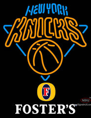 Fosters New York Knicks NBA Neon Sign