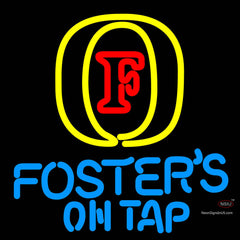 Fosters On Tap Neon Beer Sign x