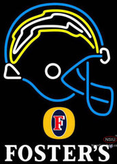 Fosters San Diego Chargers NFL Neon Sign