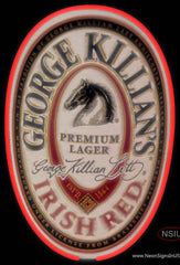 George Killians Irish Red Neon Beer Sign