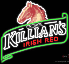 George Killians Irish Red Summer Neon Beer Sign