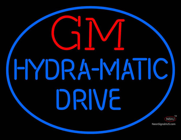 Gm Hydra Matic Drive Neon Sign