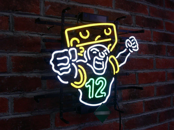 Green Bay Packers Fans    Neon Sign