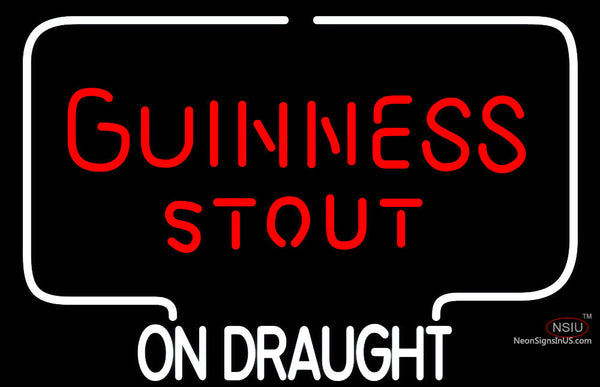 Guinness Stout Neon Beer Sign