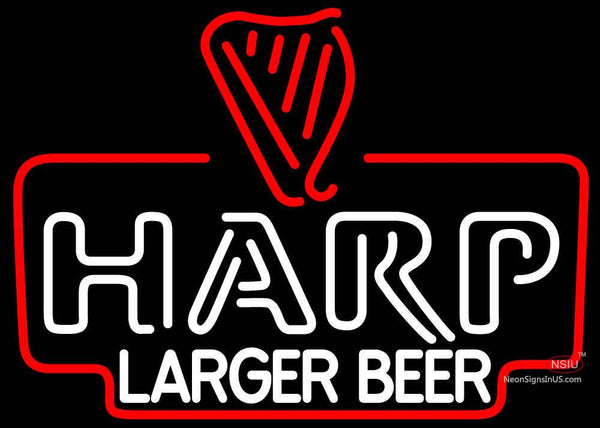 Harp Lager Neon Beer Sign