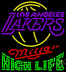 High Life Neon Logo Los Angeles Lakers NBA Neon Sign