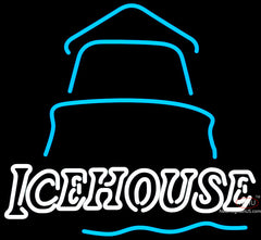 Ice House Day Light House Neon Beer Sign