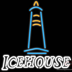 Ice House Light House Neon Beer Sign