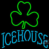 Icehouse Green Clover Neon Beer Sign x