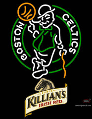 Killians Boston Celtics NBA Neon Beer Sign
