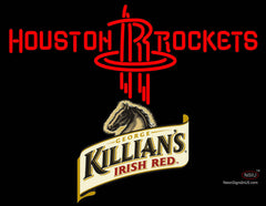 Killians Houston Rockets NBA Neon Beer Sign