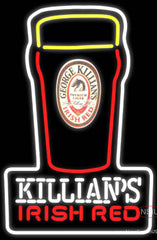 Killians Irish Red Pint Glass Of Beer Neon Beer Sign