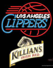 Killians Los Angeles Clippers NBA Neon Beer Sign