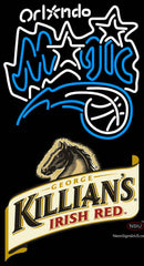 Killians Orlando Magic NBA Neon Beer Sign