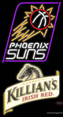 Killians Phoenix Suns NBA Neon Beer Sign