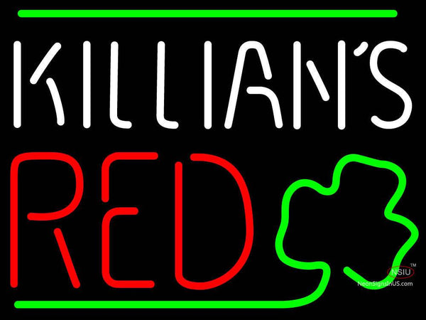 Killians Red Shamrock Neon Beer Sign