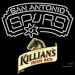 Killians San Antonio Spurs NBA Neon Beer Sign