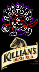Killians Toronto Raptors NBA Neon Beer Sign