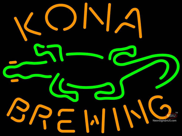 Kona Brewing Co. GECKO Neon Sign