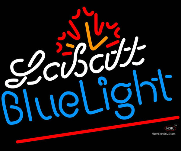 Labatt Blue Light Neon Beer Sign x