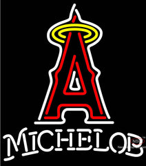 Michelob Anaheim Angels MLB Neon Sign