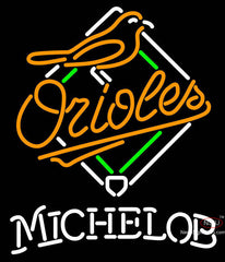 Michelob Baltimore Orioles MLB Neon Sign