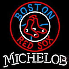 Michelob Boston Red Sox MLB Neon Sign