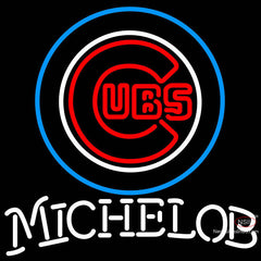 Michelob Chicago Cubs MLB Neon Sign