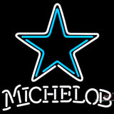 Michelob Dallas Cowboys NFL Neon Sign  7 x