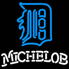 Michelob Detroit Tigers MLB Neon Sign   x